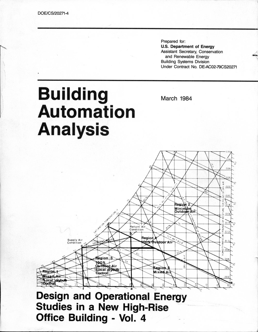 PSE&G Building Energy Studies (USDOE) - Analysis of Energy Use During Building Startup