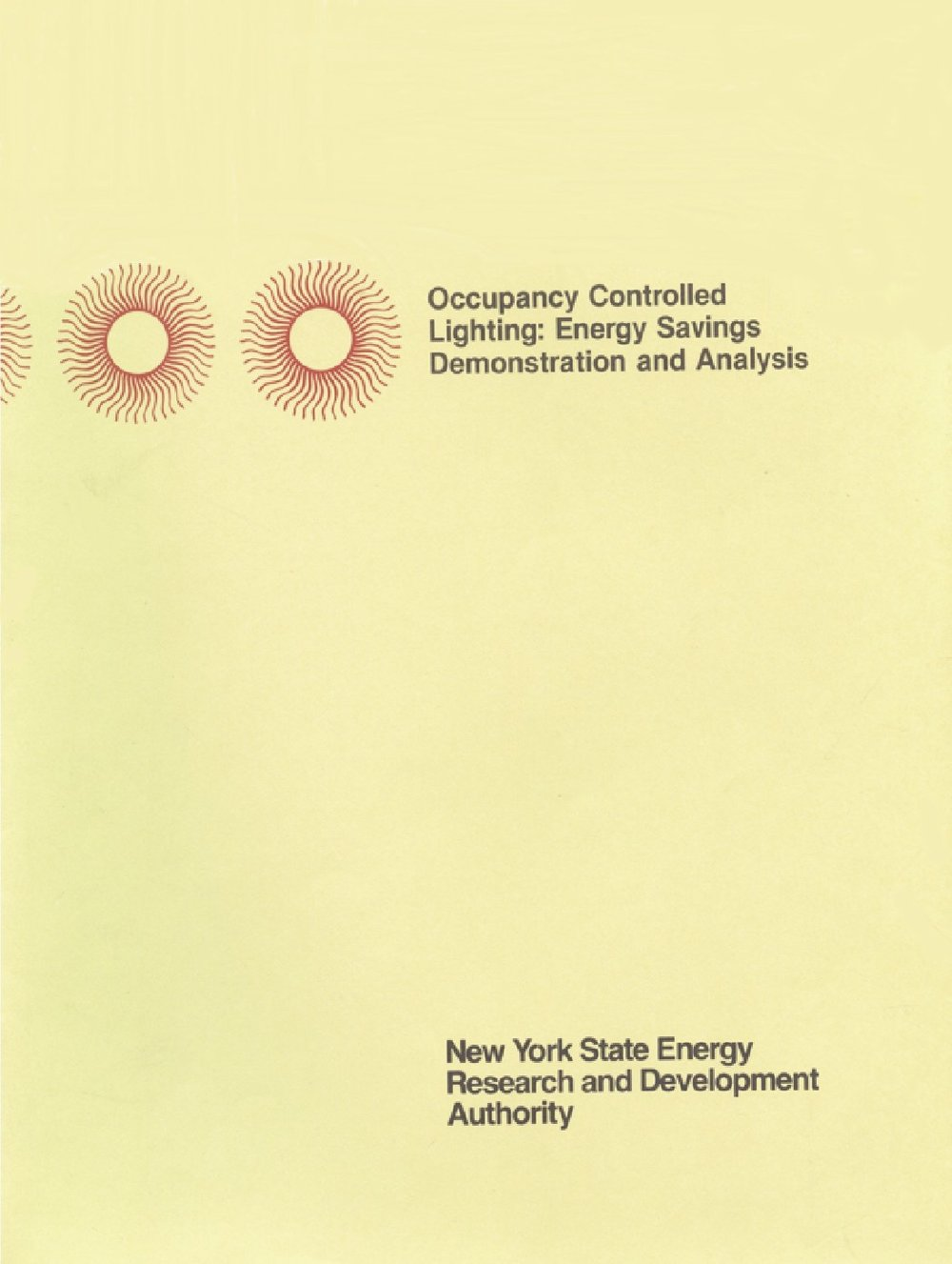 Occupant Controlled Lighting - Report Summary