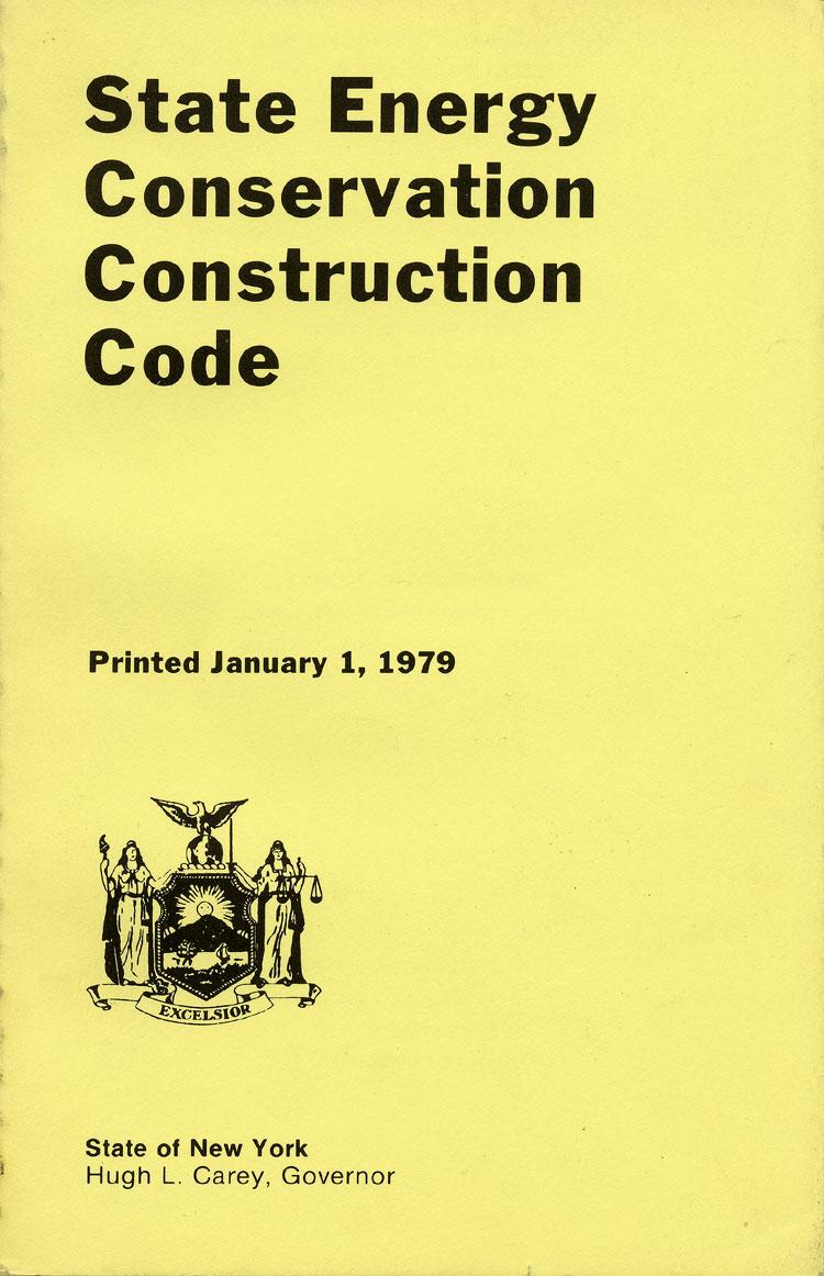 NYS Energy Code 1979.