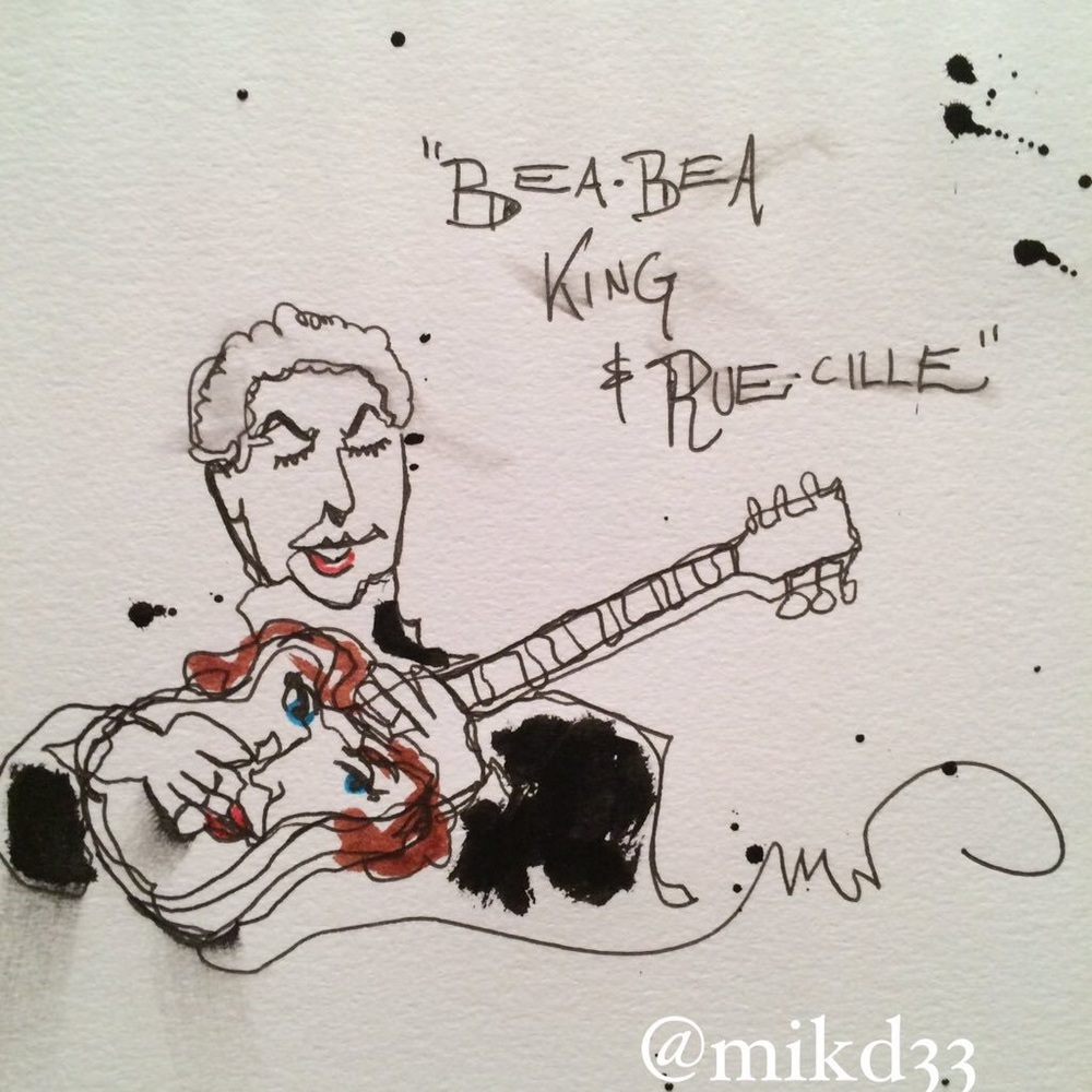 A recent #BeaADay2 & #RueTheDay crossover