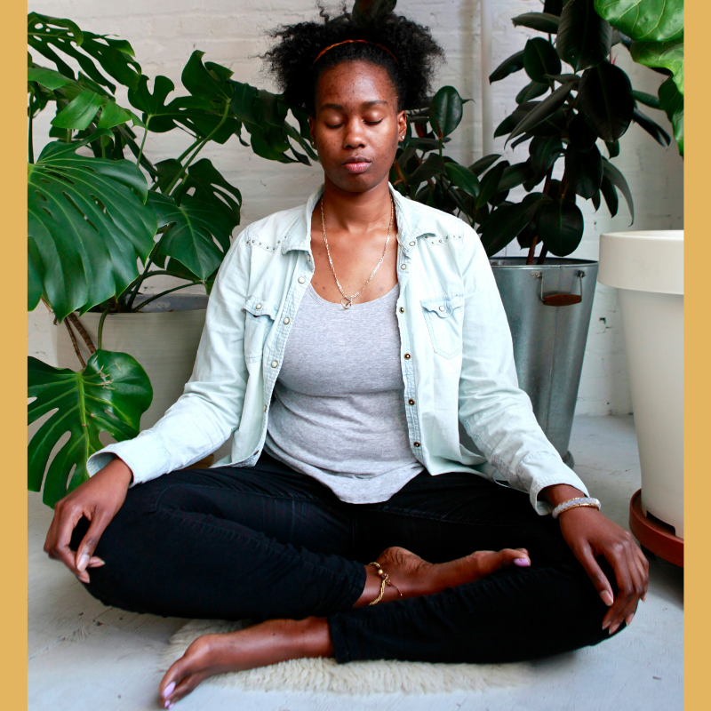 Black Girl Meditating