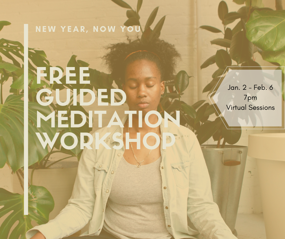 free guided meditation workshop for millennial women of color