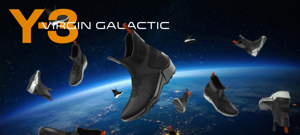 Galaxy Approach Boot:    Y3 + Virgin Galactic Boots for Commercial Spaceflight | Footwear Design