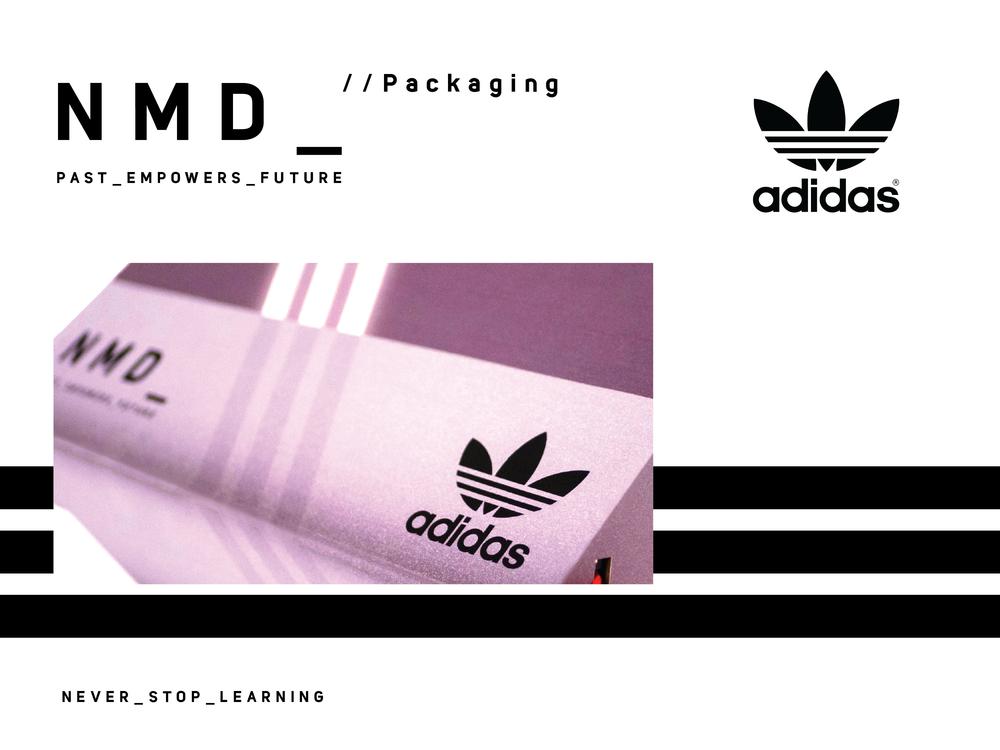 Adidas NMD:  Branding | Packaging Design