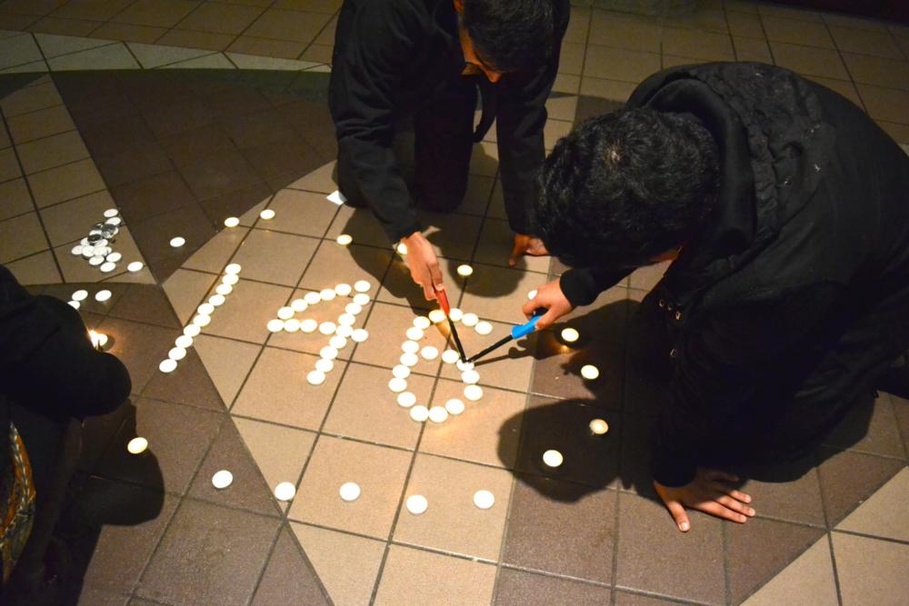 Vigil in Peshawar, Pakistan. (Neon Tommy - Flickr)