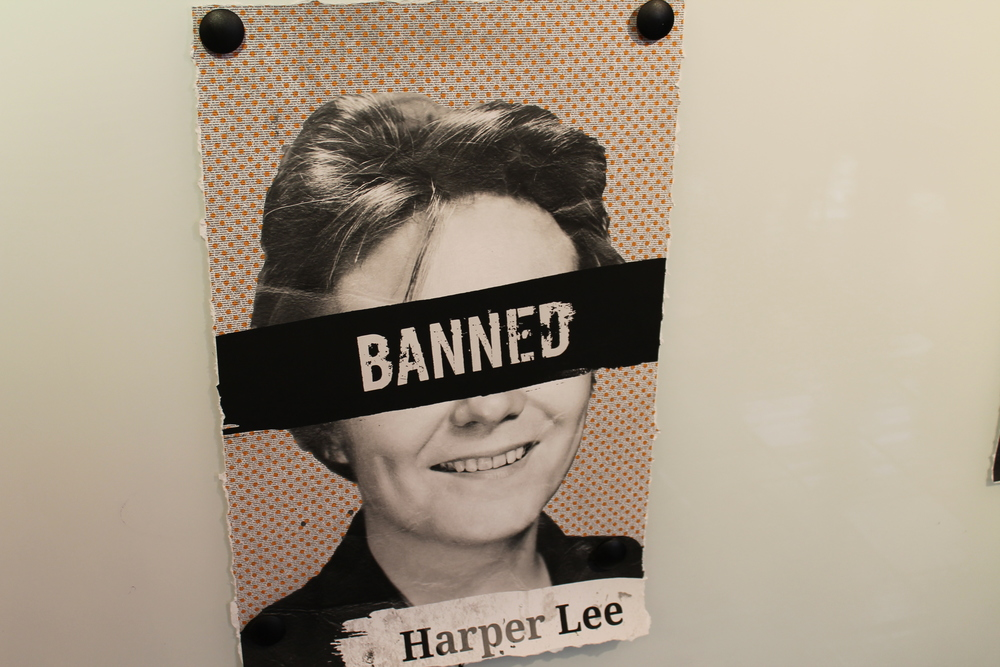 Harper Lee, author of  To Kill A Mockingbird , has frequently been on banned book lists. (Flickr - Kennedy Center)