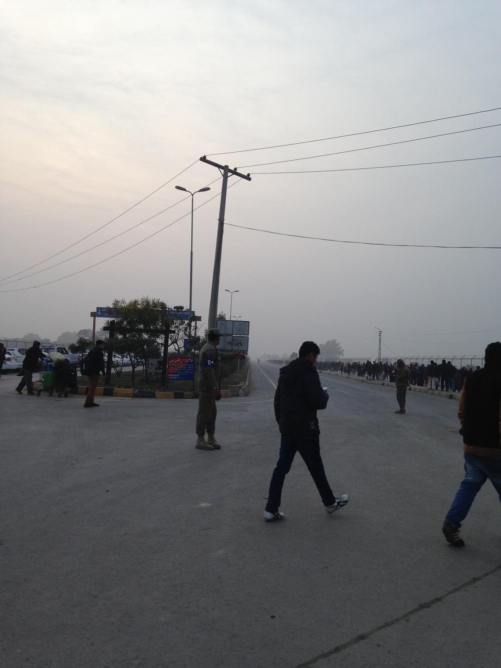 Lahore, near Wagah border. (E.A. Crunden.)