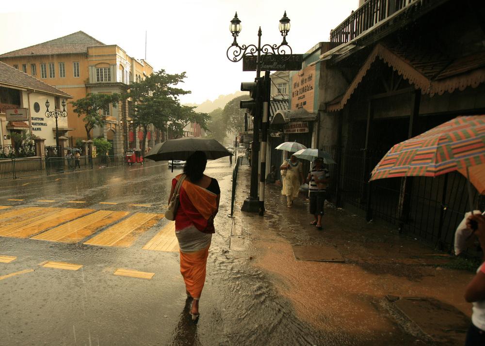 Rain in Sri Lanka. (planetlight - Flickr)