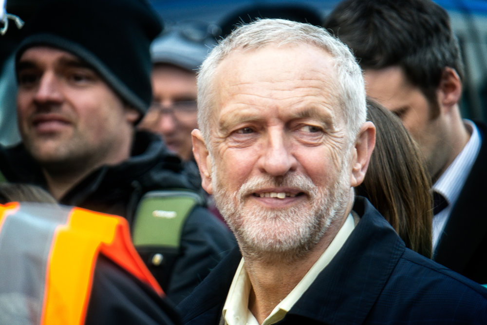 Jeremy Corbyn, leader of the Labour party (Flickr - Garry Knight)