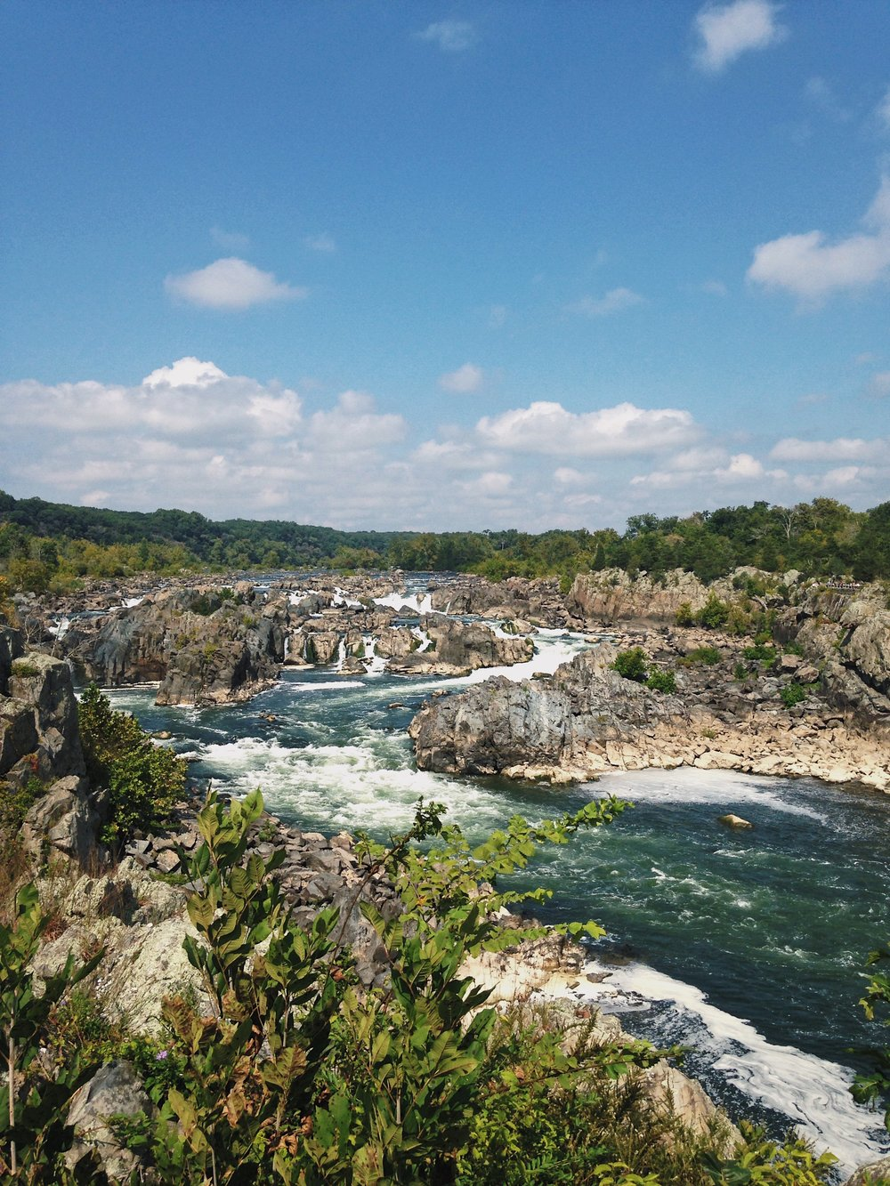 Great Falls. © E.A. Crunden