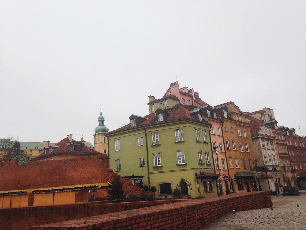 Old town, Warsaw, Poland. © E.A. Crunden