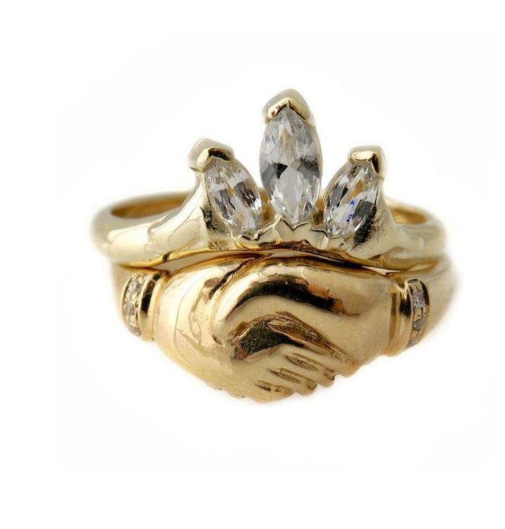 Golden Grove Ring Stack