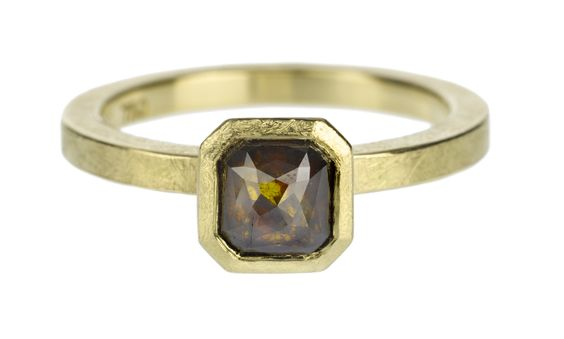 Todd Reed Natural Colored Diamond Ring