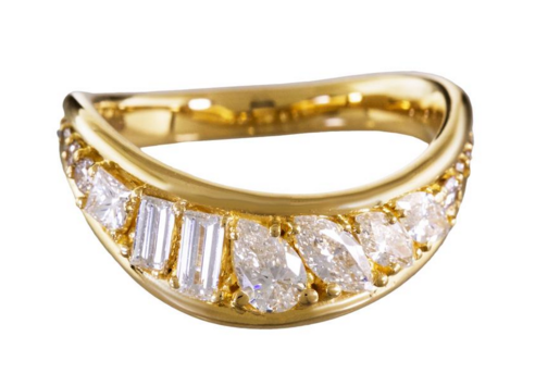 Fernando Jorge Diamond Stream Ring