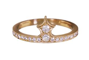 Michelle Fantaci Diamond Pawn Ring