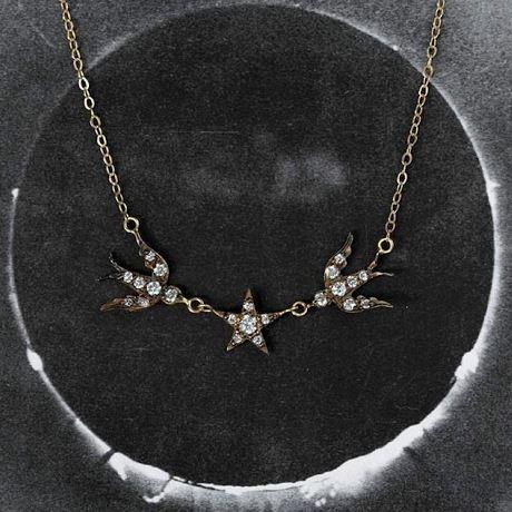Blackbird & the Snow necklace.