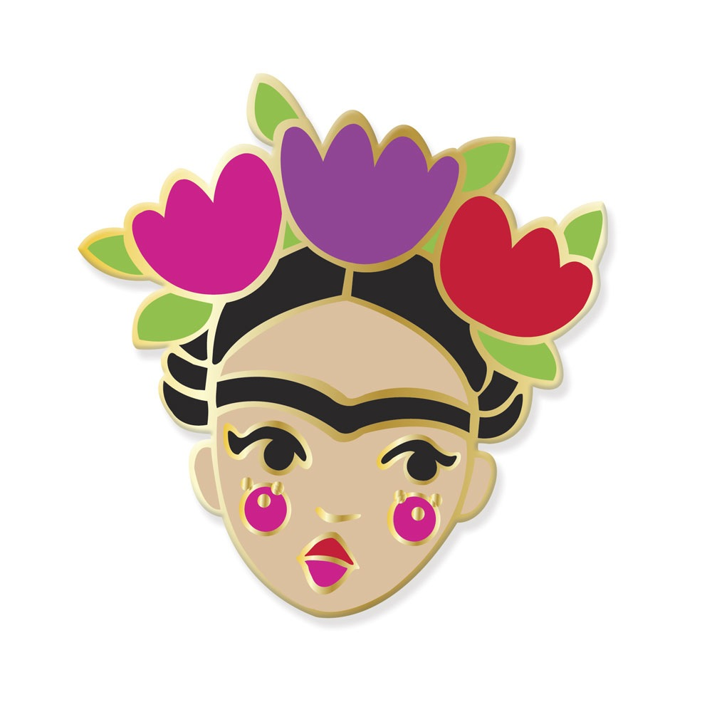 Axel Honey Frida Kahlo Pin