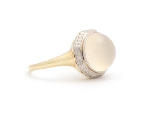 Fox & Bond Art Deco Ring