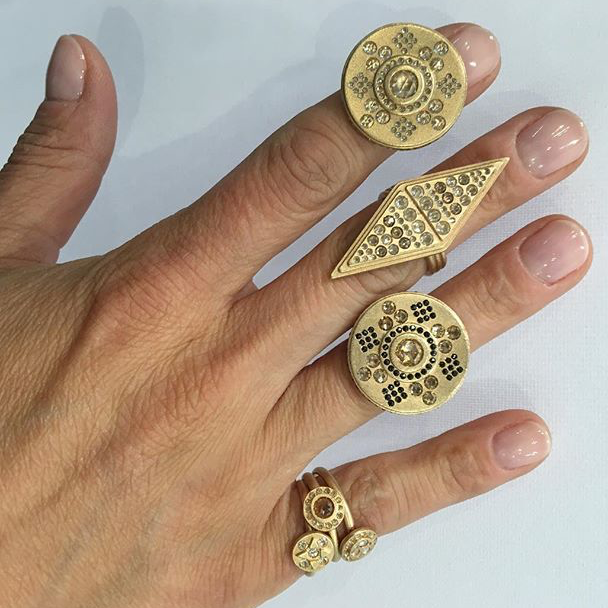 Santi Rom rings on Jewelry Maven