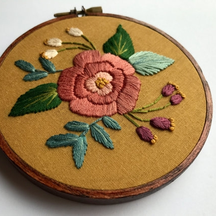 Embroidered Artwork