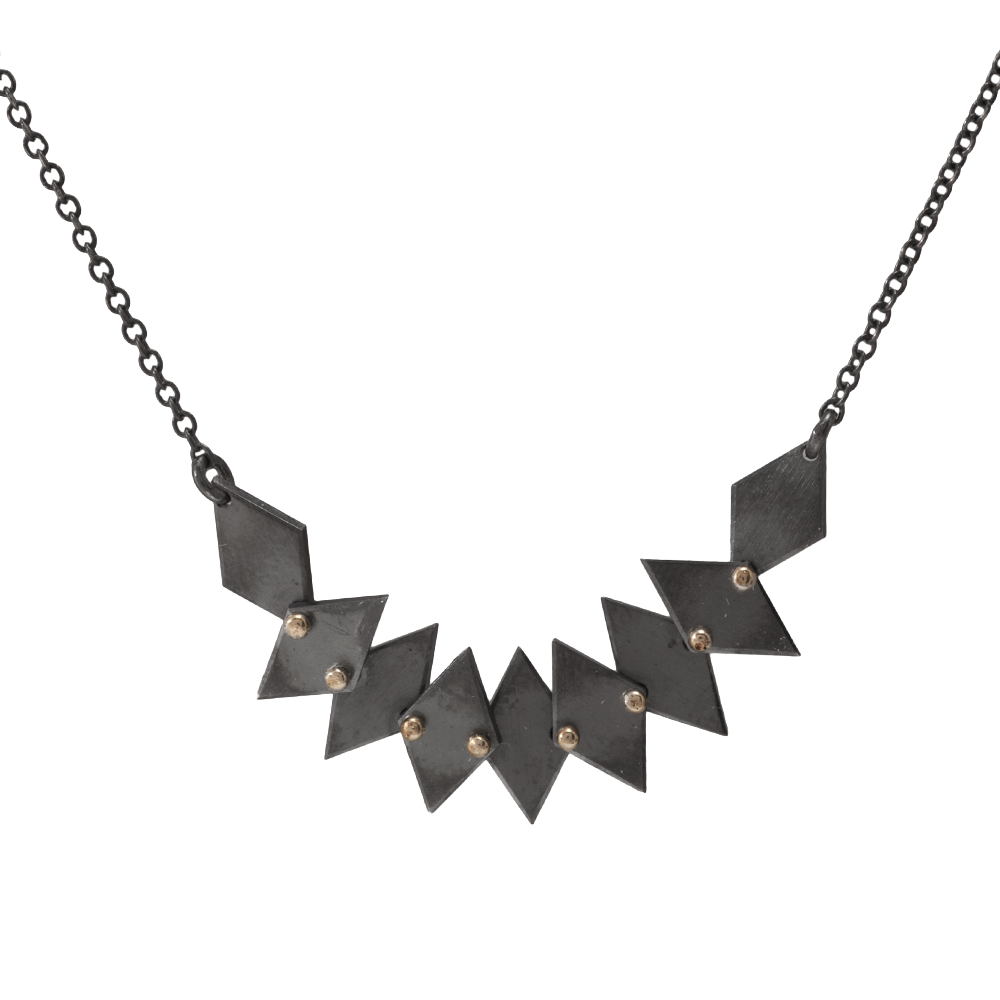 An Edgy Necklace