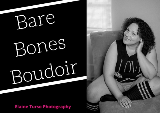 A shoot with no makeup! Just you! Bare Bones!