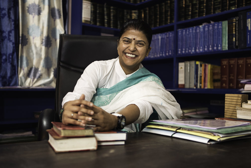 Human Rights Activist & Lawyer, Shama Sinha