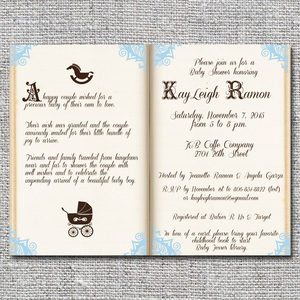 Baby birth announcements and baby shower invitations nine0nine storybook baby shower invitationg filmwisefo
