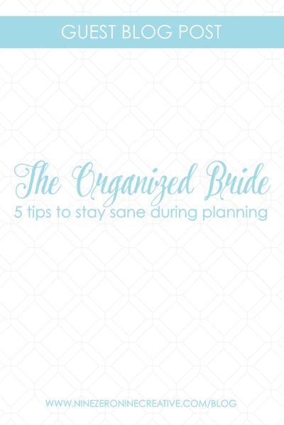 organized wedding — Blog — nine0nine creative   custom