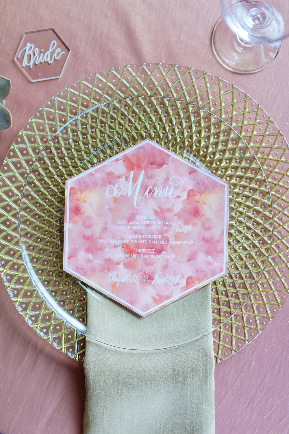 hexagon menu and place setting.jpg