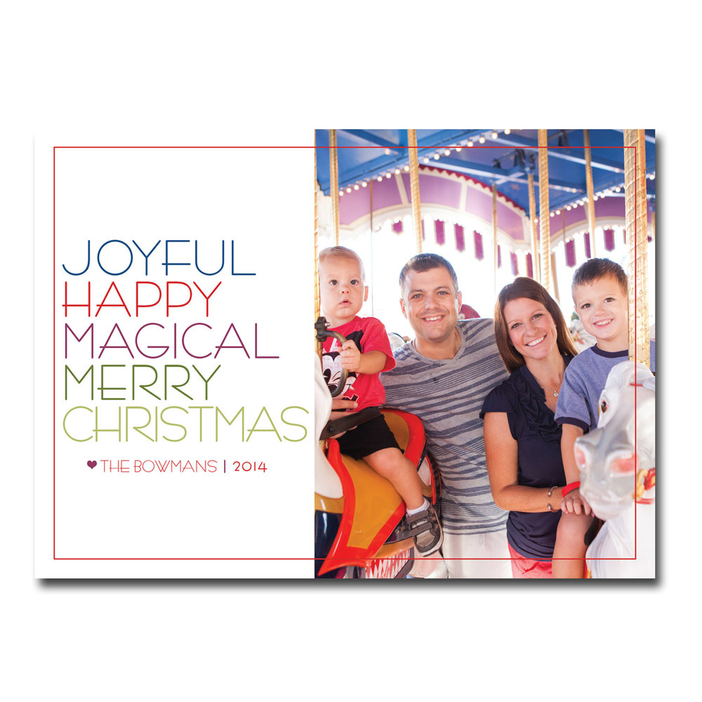 disney world themed christmas card with photo.jpg