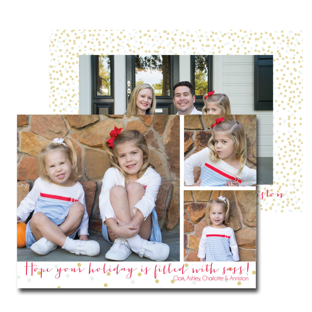 gold and blue confetti christmas card with photo.jpg