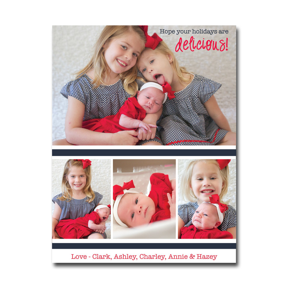 sibling christmas card with photos navy and red.jpg
