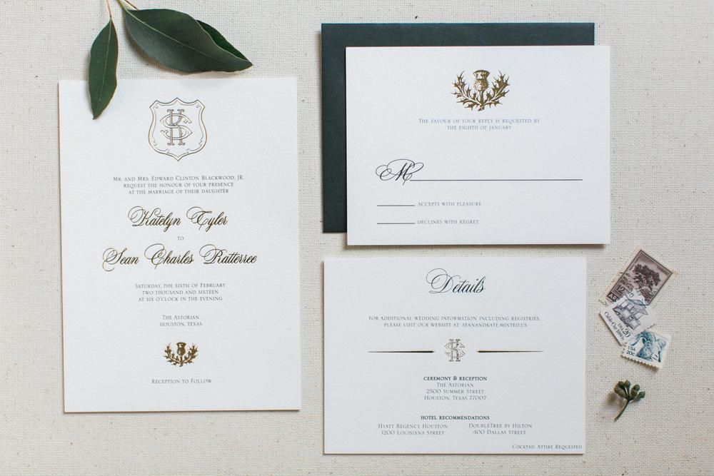 Katelyn Suite Home Page nine0nine creative custom invitations