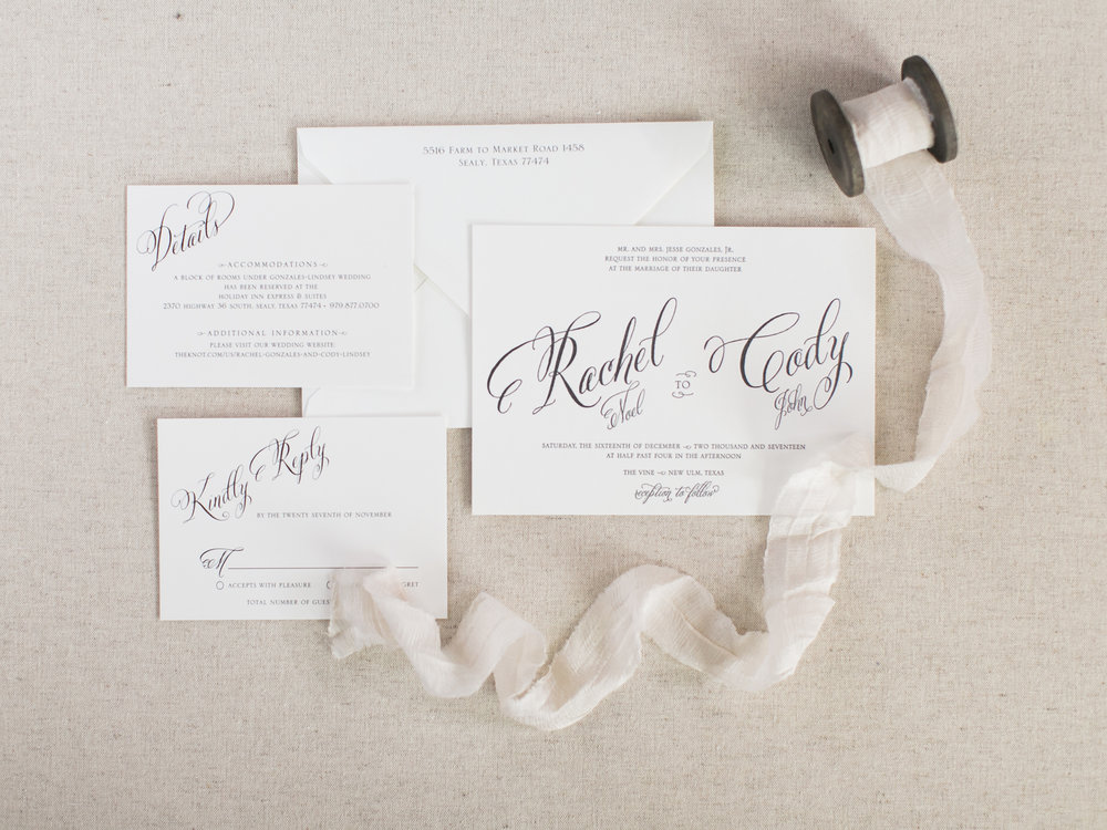 letterpress wedding invitation with black ink.jpg