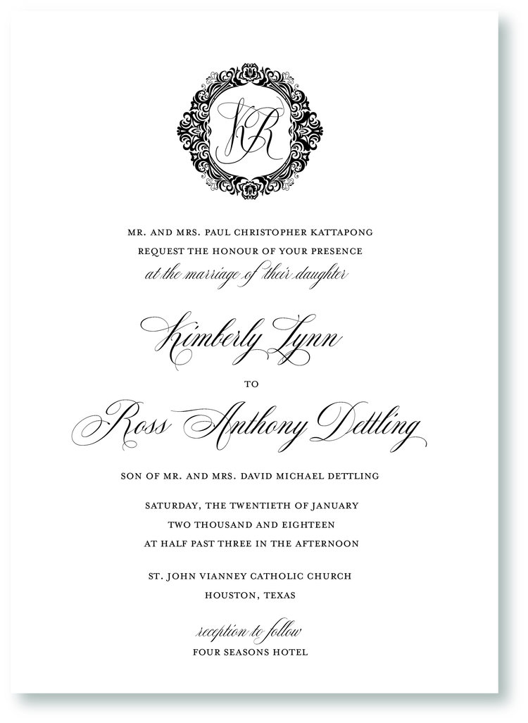 Top 8 Font Pairings For Wedding Invitations Nine0nine Creative