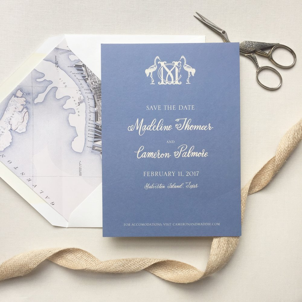 Galveston Save the Date custom monogram.JPG
