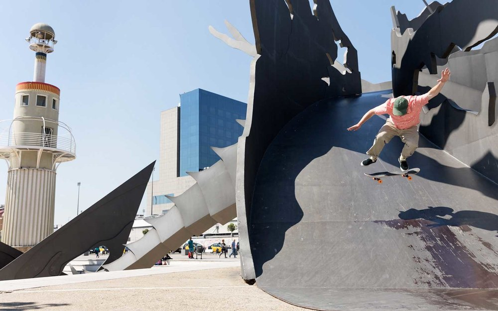Barcelona by Skateboard by Ryan Yong (co-edited w/David Alexander Arnold)