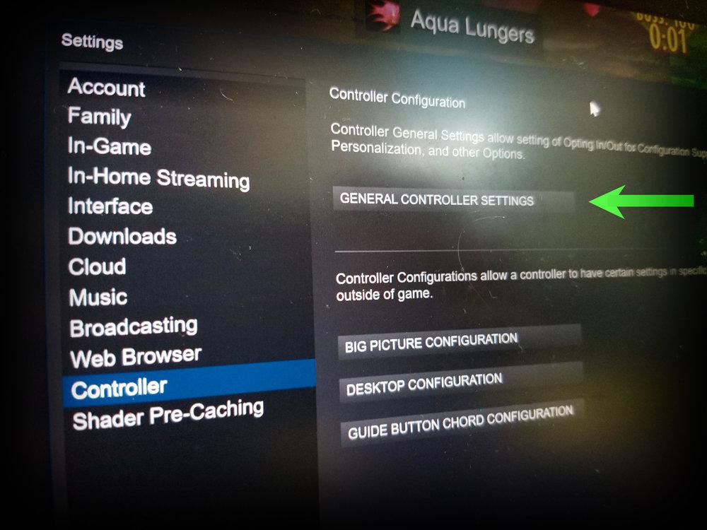 Aqua Lungers Supported Controllers — WarpedCore Studio