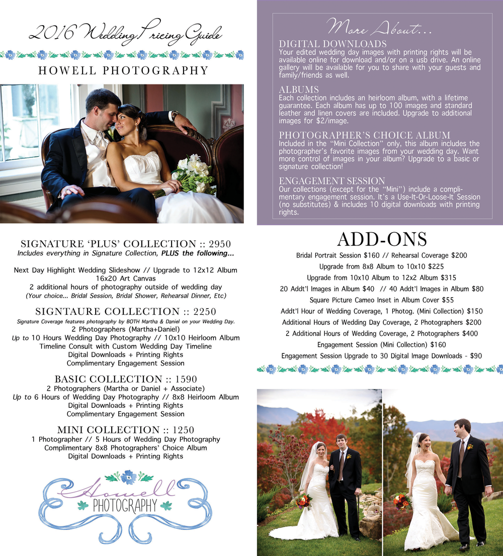 knoxville wedding photography info
