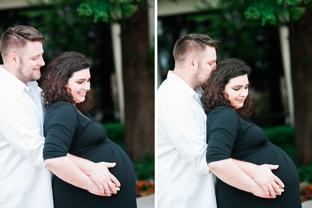 Knoxville Maternity Photography Mom and Dad