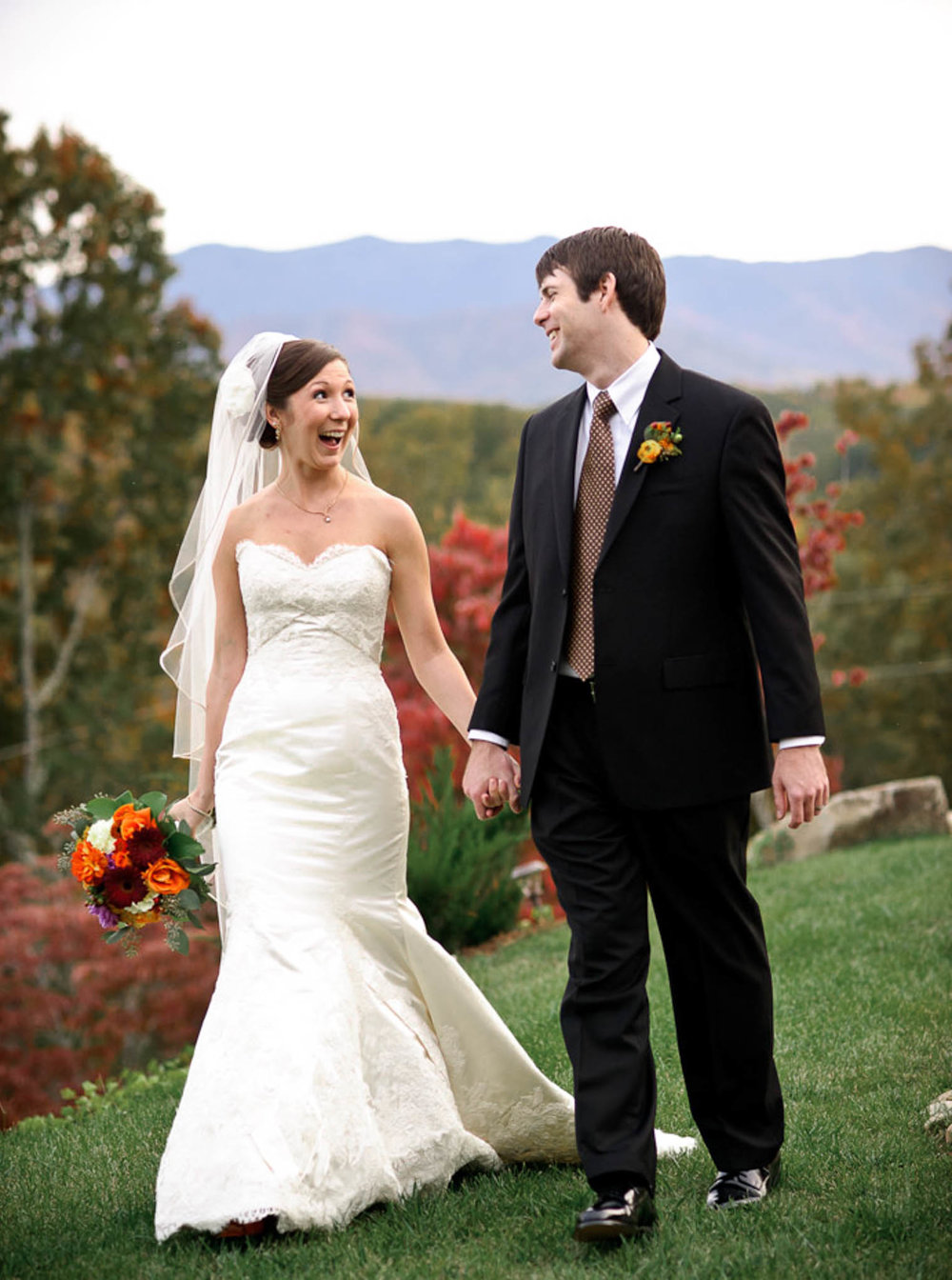 Meg & Chris, October 2010 Wedding