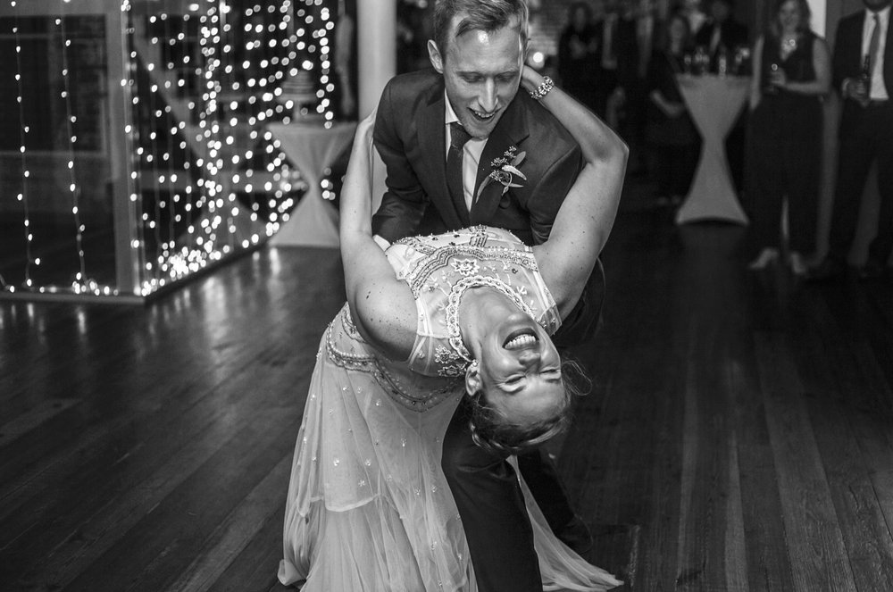 The bride and the groom are dancing like crazy in a Yago studio in Washington D.C., September 10th, 2016.