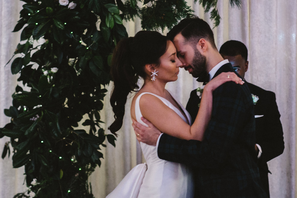 Tamanna and Nick were the sweetest couple! They married at Eastern market in Washington DC