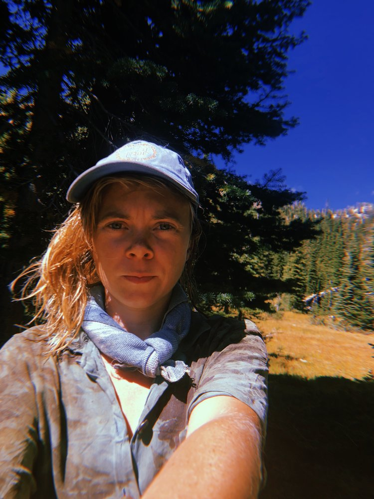 Kelly selfie in the Wallowas this summer.