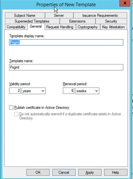 Server 2012 configuration certificate templates networking fun on the security tab highlight domain users and be sure to uncheck autoenroll since we dont want this template to be issued through our group policy at any yelopaper Image collections