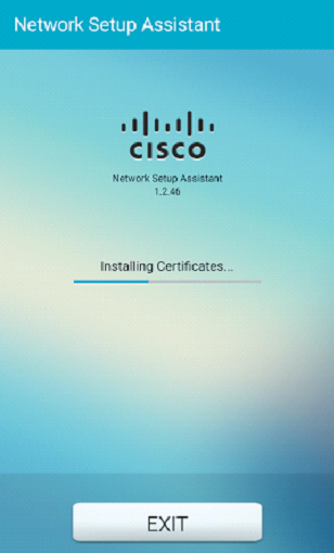 Step 5- Network Setup Assistant downloads and installs the certificate from ISE