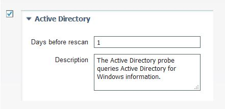 Active Directory profiler