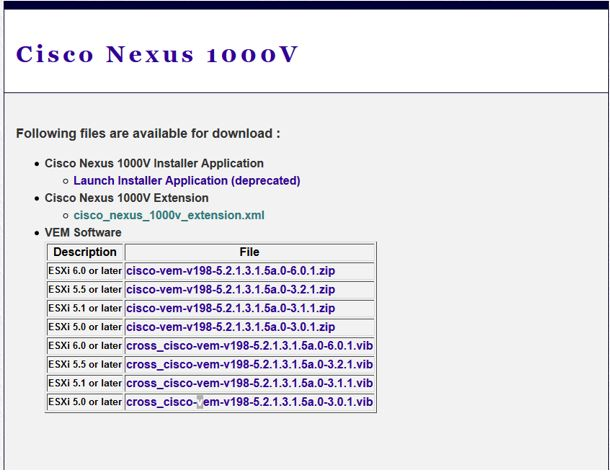 Nexus 1000v - Installation — Networking fun