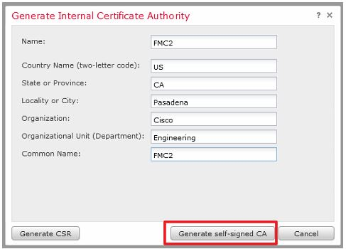 Firepower 6.0 pxGrid Integration with ISE - Self-signed Certificates ...